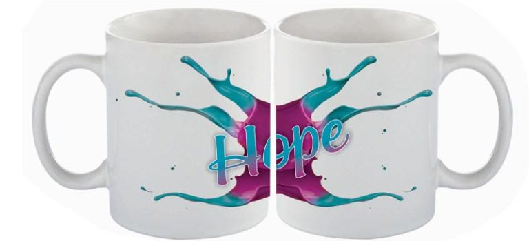 Purchase a 'Splash Out Hope' Mug Cuppa Keepsake