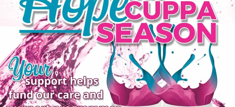 Splash out Hope this Cuppa Season for cancer Survivors