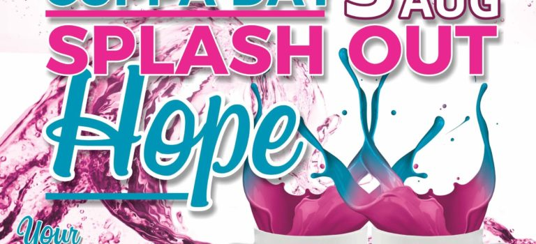 National Cuppa For CANSA Day – Splash Out Hope!