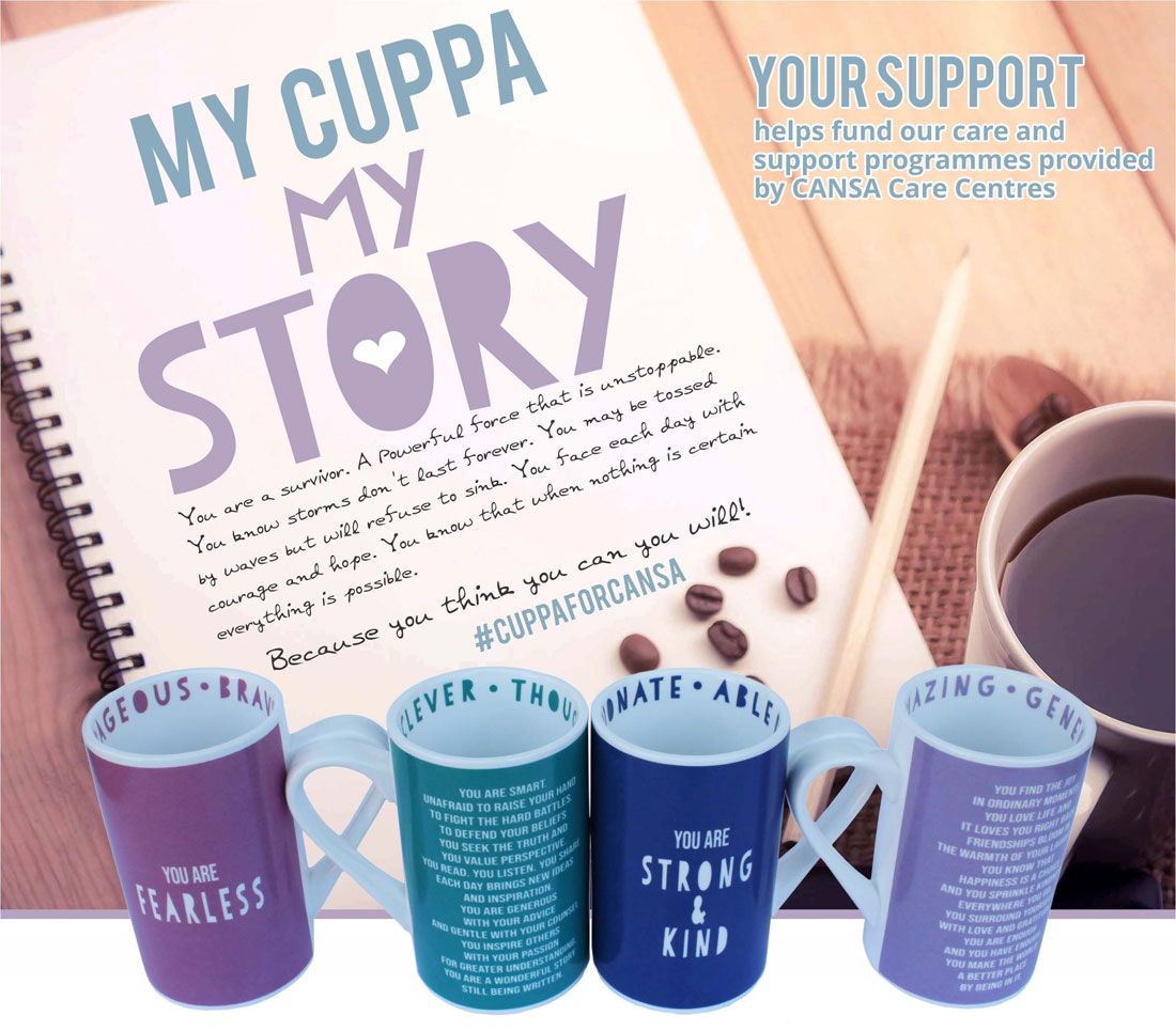 My Cuppa, my story - Host a Cuppa For CANSA
