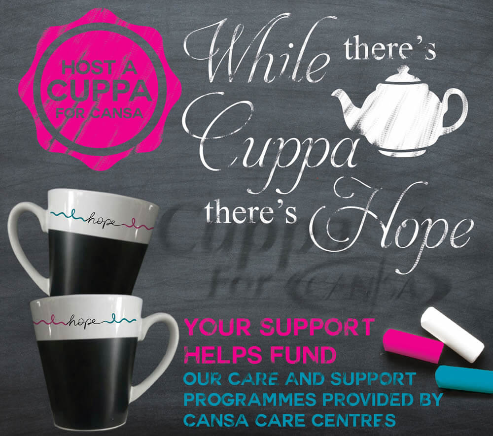 Host a Cuppa For CANSA